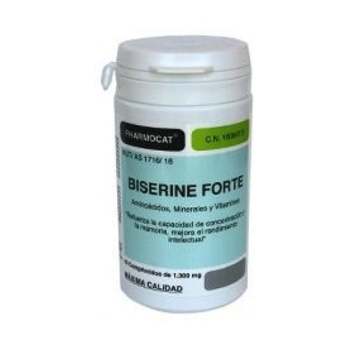 Biserine Forte 40 cápsulas Pharmocat